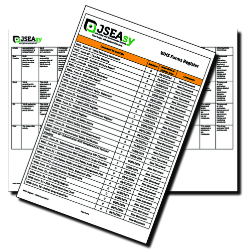 Workplace Health and Safety Audit Matrix