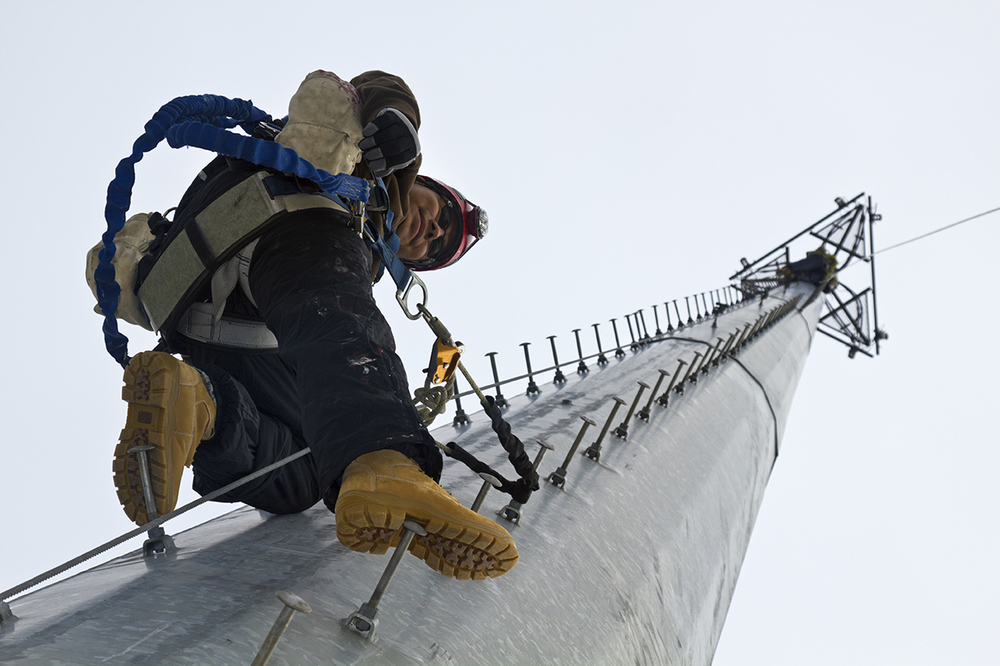 Fall from  heights retrieval with Access Equipment